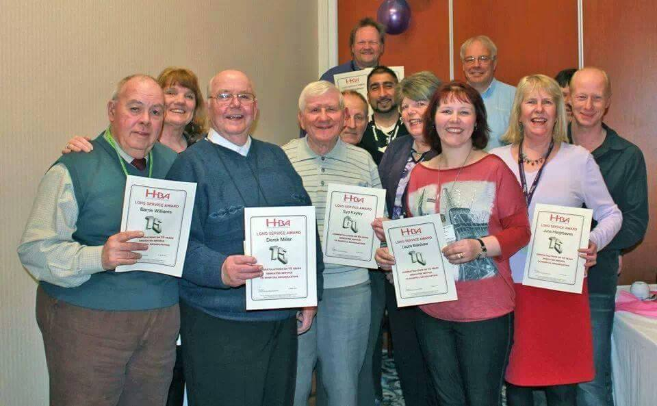 Long service awards from HBA